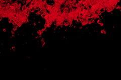 κόκκινο ύδωρ παφλασμών στοκ εικόνα με δικαίωμα ελεύθερης χρήσης