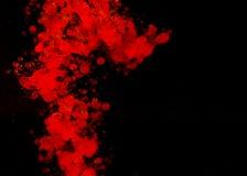 κόκκινο ύδωρ πετρελαίου απελευθερώσεων Στοκ Εικόνες