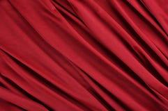 Κόκκινο ύφασμα σατέν Στοκ φωτογραφίες με δικαίωμα ελεύθερης χρήσης