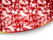 κόκκινο ύφος καρτών Στοκ εικόνα με δικαίωμα ελεύθερης χρήσης