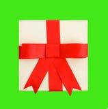 Κόκκινο δώρο τόξων Στοκ Εικόνα