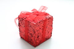 Κόκκινο δώρο Στοκ Φωτογραφίες