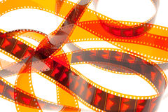 κόκκινο 2 ταινιών Στοκ Εικόνα