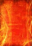 κόκκινο 3 πλαισίων grunge Στοκ Φωτογραφίες