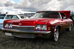 Κόκκινο Chevy στοκ εικόνα