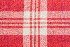 Κόκκινο Chintz του Scott υπόβαθρο σχεδίων σύστασης υφάσματος υφασμάτων Στοκ Φωτογραφία