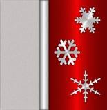 κόκκινο cristmas ανασκόπησης Στοκ Εικόνα
