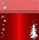 κόκκινο cristmas ανασκόπησης Στοκ φωτογραφίες με δικαίωμα ελεύθερης χρήσης