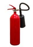 Κόκκινο extniguisher πυρκαγιάς δεξαμενών στοκ φωτογραφία