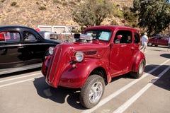 Κόκκινο 1951 Ford Anglia Coupe Στοκ Εικόνα