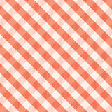 Κόκκινο gingham υπόβαθρο Στοκ εικόνα με δικαίωμα ελεύθερης χρήσης