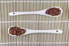 Κόκκινο jasmine ρύζι Στοκ φωτογραφία με δικαίωμα ελεύθερης χρήσης
