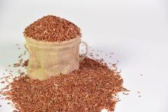 Κόκκινο jasmine ρύζι Στοκ Εικόνες