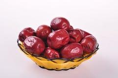 Κόκκινο jujube--τρόφιμα παραδοσιακού κινέζικου στοκ φωτογραφία με δικαίωμα ελεύθερης χρήσης