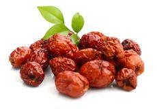 Κόκκινο jujube Φαγώσιμος, καλάθι στοκ φωτογραφία με δικαίωμα ελεύθερης χρήσης
