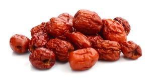 Κόκκινο jujube Φαγώσιμος, καλάθι στοκ φωτογραφίες