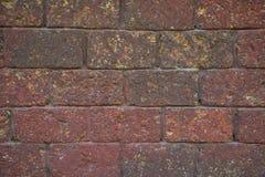 Κόκκινος laterite τουβλότοιχος Στοκ φωτογραφία με δικαίωμα ελεύθερης χρήσης