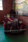 Κόκκινο MG TD του 1952 Στοκ εικόνα με δικαίωμα ελεύθερης χρήσης