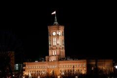 κόκκινο rathaus του Βερολίνο&upsi Στοκ Εικόνες