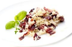 κόκκινο risotto λάχανων Στοκ εικόνες με δικαίωμα ελεύθερης χρήσης