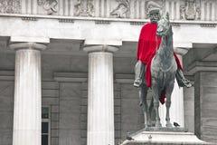 κόκκινο s ακρωτηρίων άγαλμ&alph Στοκ Εικόνες
