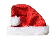 κόκκινο santa καπέλων στοκ εικόνες με δικαίωμα ελεύθερης χρήσης