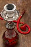 Κόκκινο sheesha Στοκ φωτογραφία με δικαίωμα ελεύθερης χρήσης