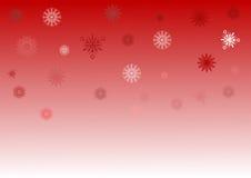 κόκκινο snowflake ανασκόπησης λ&epsilo Στοκ φωτογραφίες με δικαίωμα ελεύθερης χρήσης
