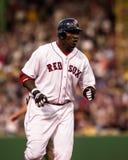 κόκκινο sox της Βοστώνης Δα&beta Στοκ Εικόνες