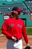 κόκκινο sox της Βοστώνης arroyo bronson Στοκ Εικόνες