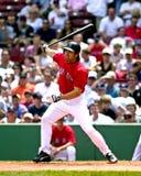 κόκκινο sox της Βοστώνης damon Johnny στοκ φωτογραφία με δικαίωμα ελεύθερης χρήσης