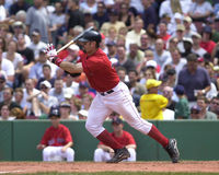 κόκκινο sox της Βοστώνης jason varitek Στοκ φωτογραφίες με δικαίωμα ελεύθερης χρήσης