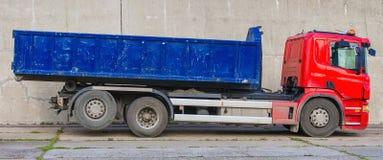κόκκινο truck Στοκ Εικόνες