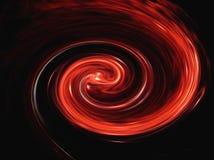 κόκκινο twirl Στοκ Εικόνες