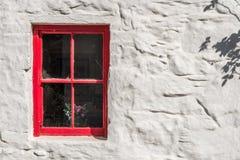 Κόκκινο Wicklow παράθυρο Στοκ Εικόνες