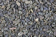 Κόκκοι μικροϋπολογιστών του ξηρού πράσινου τσαγιού ελίτ στοκ εικόνα με δικαίωμα ελεύθερης χρήσης