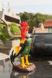 Κόκκορας ειδωλίων στο πάρκο σε Phuket Στοκ Εικόνες
