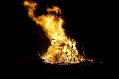 κόλαση καψίματος Στοκ φωτογραφία με δικαίωμα ελεύθερης χρήσης