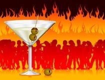 κόλαση martini απεικόνιση αποθεμάτων