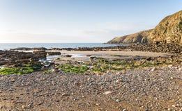 Κόλπος εκκλησιών στη βόρεια Ουαλία UK Anglesey Στοκ φωτογραφία με δικαίωμα ελεύθερης χρήσης