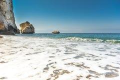 Κόλπος και παραλία θάλασσας Στοκ Εικόνες