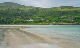 Κόλπος του Κάλγκαρι στο νησί Mull, Σκωτία Στοκ Φωτογραφία