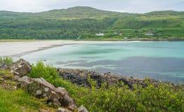 Κόλπος του Κάλγκαρι στο νησί Mull, Σκωτία Στοκ Εικόνες