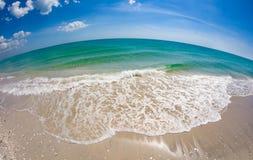Κόλπος του Μεξικού στο νησί Φλώριδα Gasparilla στοκ φωτογραφία