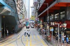 Κόλπος υπερυψωμένων μονοπατιών, Χογκ Κογκ στο 2017 στοκ φωτογραφία με δικαίωμα ελεύθερης χρήσης