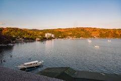 Κόλπος Φιλιππίνες Subic και περιβάλλουσα περιοχή Στοκ Φωτογραφίες