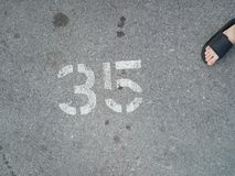 Κόλπος χώρων στάθμευσης αριθ. 35 στοκ φωτογραφίες
