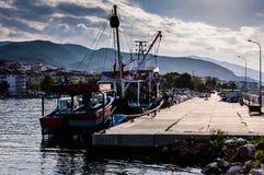Κόλπος ψαράδων Yalova Τουρκία Στοκ Φωτογραφία