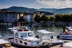 Κόλπος ψαράδων Yalova Τουρκία Στοκ εικόνα με δικαίωμα ελεύθερης χρήσης