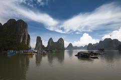 κόλπος halong Βιετνάμ Στοκ Φωτογραφίες